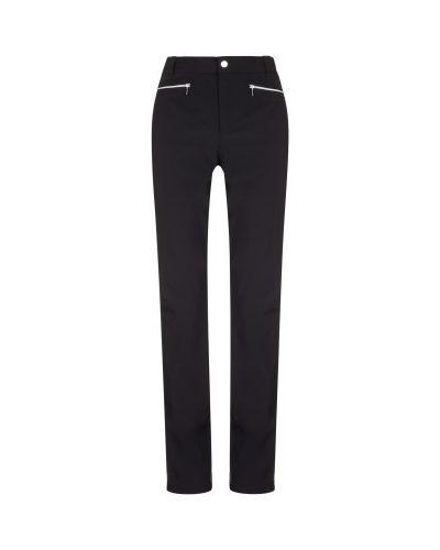 Зауженные черные утепленные спортивные брюки Luhta