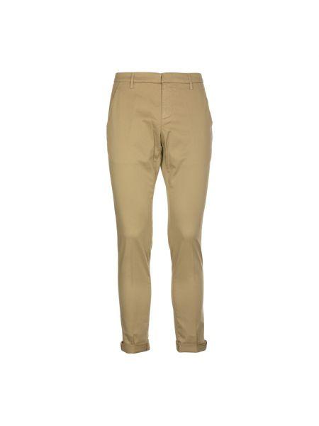 Beżowe spodnie Dondup