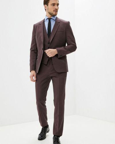 Костюмный красный костюм классический Hugo