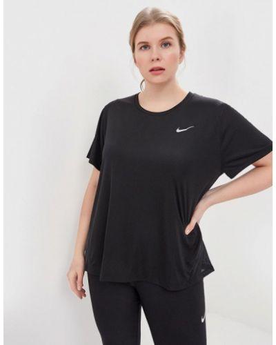 Черное поло спортивное Nike