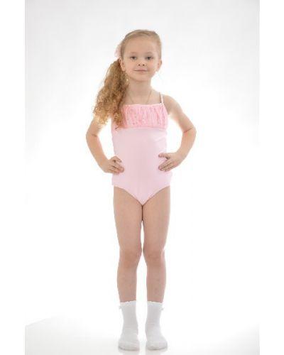 Спортивный купальник розовый итальянский Arina Ballerina