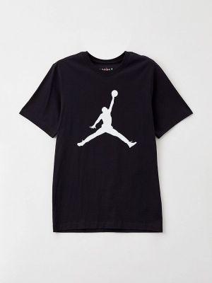 Черная футболка Jordan