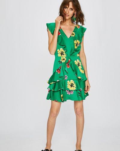 Джинсовое платье мини из вискозы Pepe Jeans