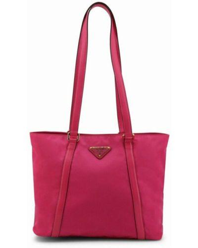 Różowa torebka Prada