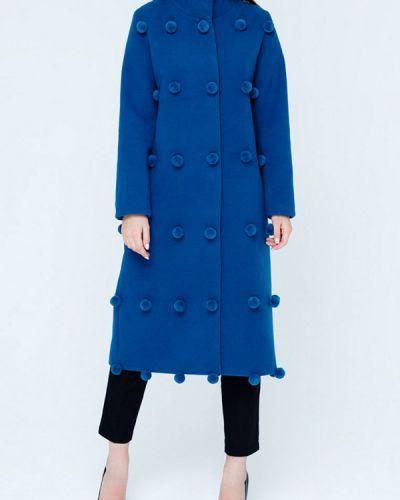 Синее пальто с капюшоном Mascot