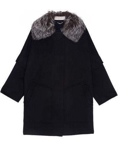 Пальто из ангоры шерстяное Emilio Pucci