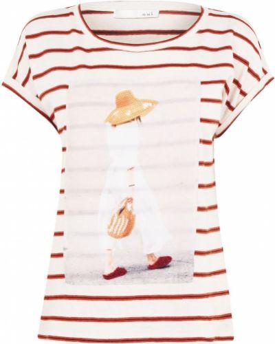 T-shirt w paski Oui
