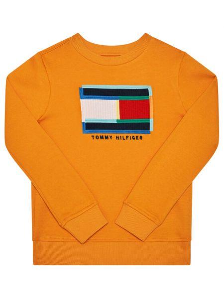 Bluza - pomarańczowa Tommy Hilfiger
