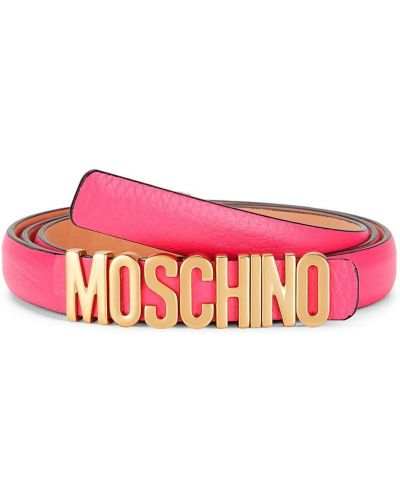 Кожаный ремень Moschino