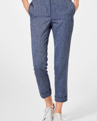Синие классические брюки Pedro Del Hierro