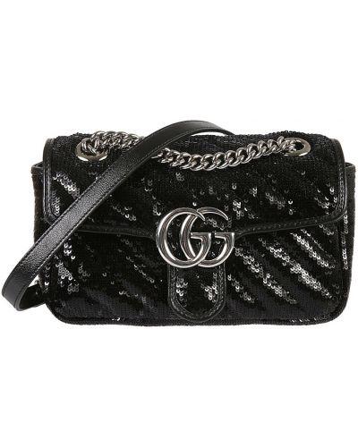 Czarna torebka Gucci