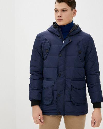 Утепленная синяя куртка Rifle