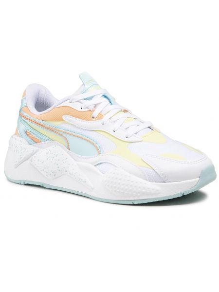 Buty do biegania casual - białe Puma