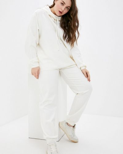 Костюмный белый спортивный костюм Trendyangel