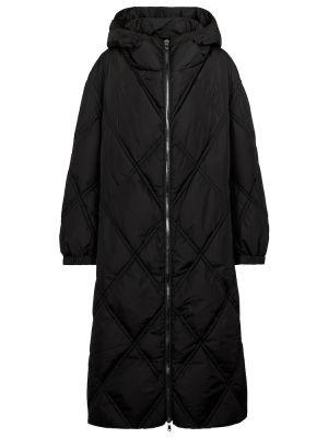 Черное пальто с капюшоном Dorothee Schumacher