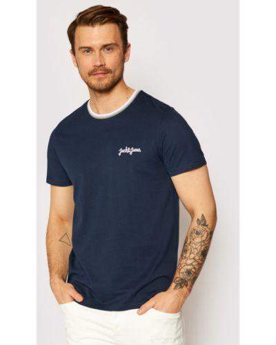 T-shirt granatowy Jack&jones