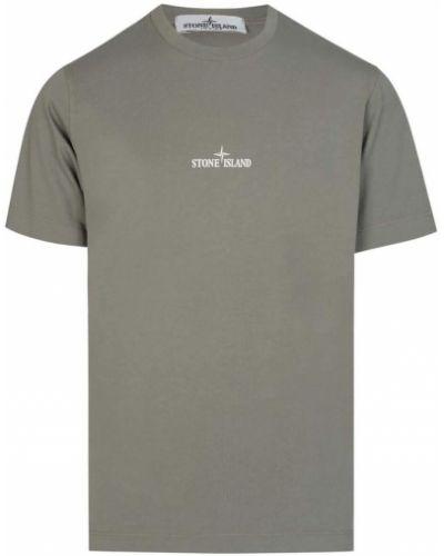 T-shirt z printem Stone Island
