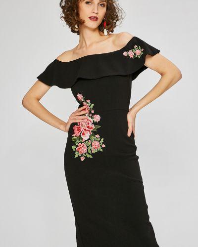 Платье мини с вышивкой облегающее Desigual