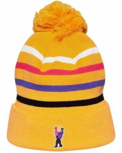 Pomarańczowa czapka beanie Grimey