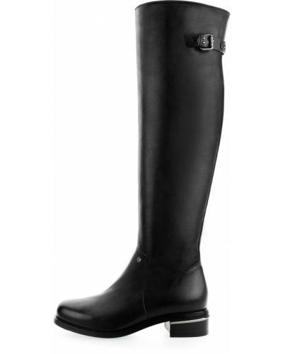 Kozaki za kolano - czarne Primamoda