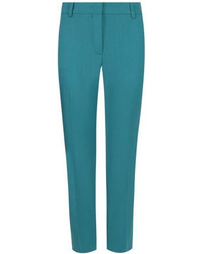 Укороченные брюки со стрелками шерстяные Emilio Pucci