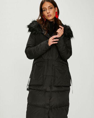 Утепленная куртка с капюшоном с карманами Answear