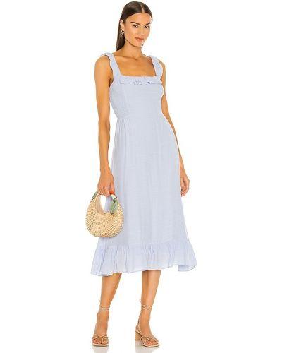 Sukienka wieczorowa vintage - niebieska Heartloom