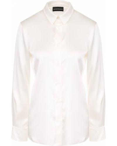 Блузка классическая приталенная Emporio Armani