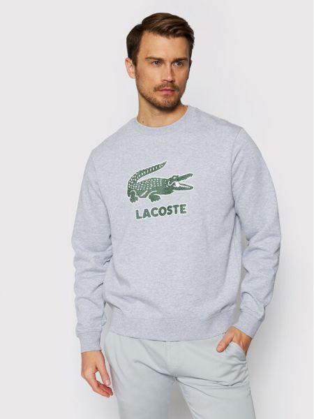 Szara bluza Lacoste