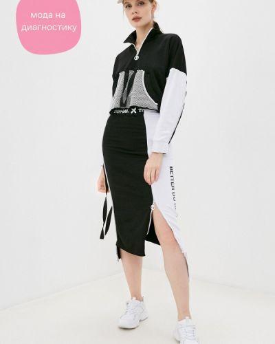 Черный костюмный спортивный костюм Dali