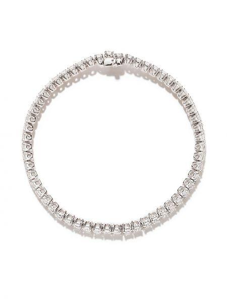 Bransoletka ze złota z diamentem ze srebra As29