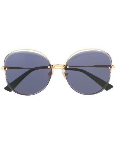 Прямые муслиновые черные солнцезащитные очки Bolon