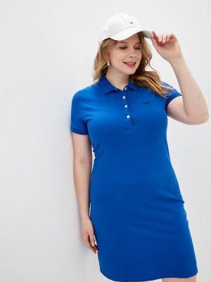 Синее платье Galvanni