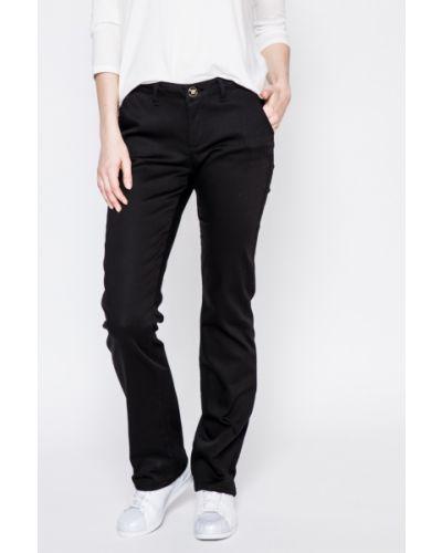 Черные брюки прямые U.s. Polo