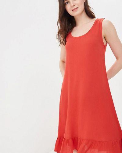 Красное платье весеннее Ichi