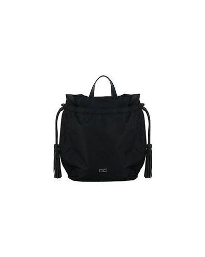 Рюкзак нейлоновый черный Patrizia Pepe