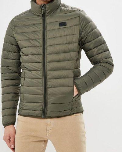 Утепленная куртка демисезонная зеленый Blend
