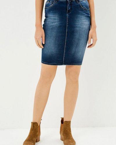 Синяя джинсовая юбка Gas