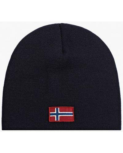 Синяя итальянская шапка Napapijri