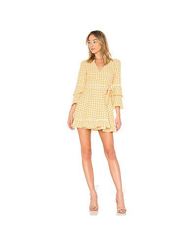 Платье с запахом с оборками The Fifth Label