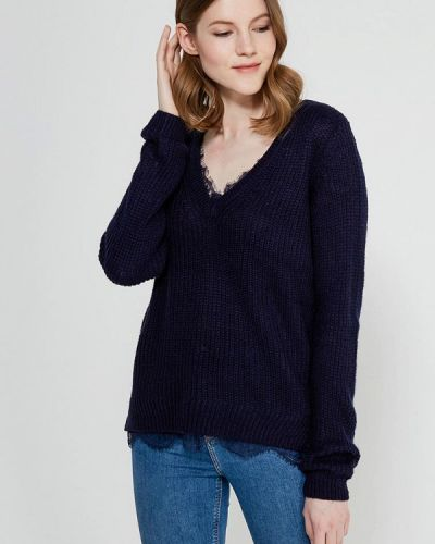 Синий пуловер Zarina
