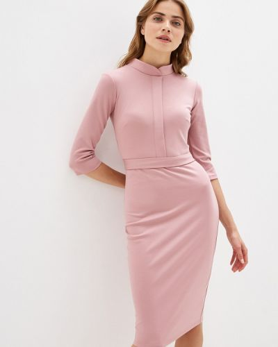 Платье футляр розовое Trendyangel