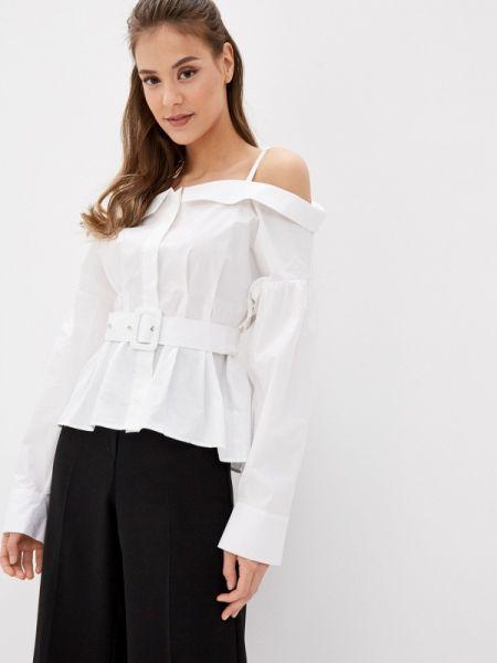 Блузка с длинным рукавом белая весенний Guess Jeans