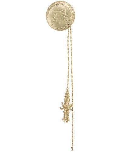 Брошь из золота золотой Yohji Yamamoto