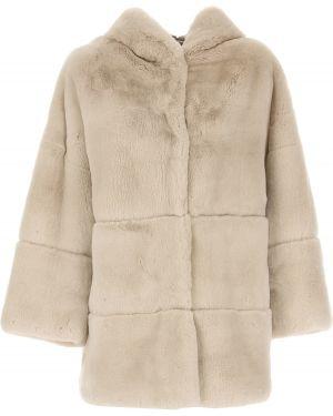 Płaszcz z kapturem zapinane na guziki S.w.o.r.d
