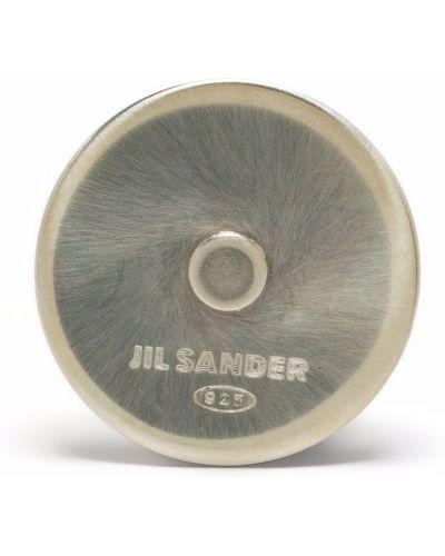 Брошь с логотипом Jil Sander