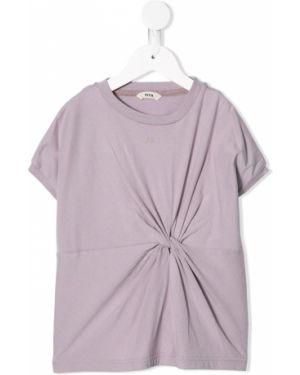 Фиолетовая футболка Fith
