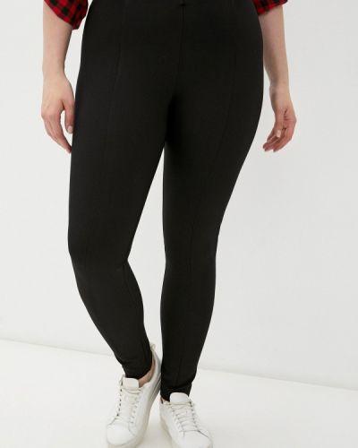 Черные зауженные брюки Madeleine