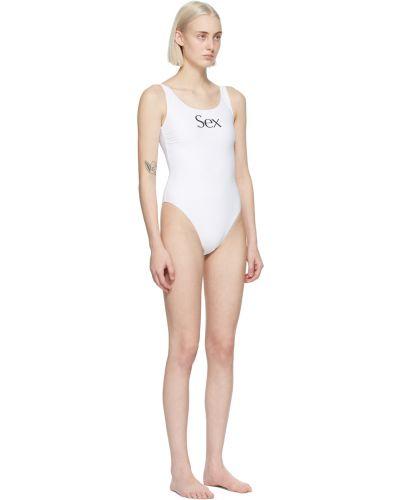 Czarny strój kąpielowy z nylonu More Joy