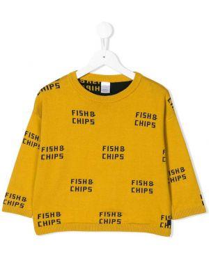 Желтый свитер Tiny Cottons